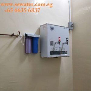 30csw hot & ambient direct pipe in wall mouted water boiler