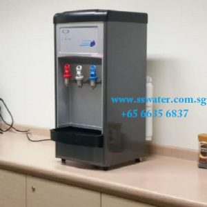 Direct pipe in table top water dispenser (38)