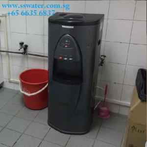 Floor standing direct pipe in water dispenser (2)