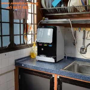 Table Top Direct Pipe In Water Dispenser
