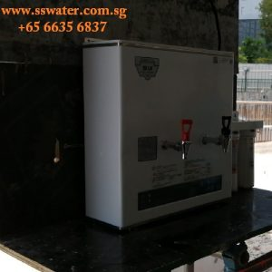 30csw hot & ambient direct pipe in wall mounted water boiler
